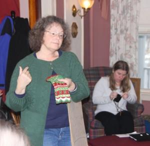 Beth teaching
