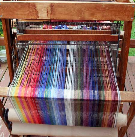 mohair-weaving