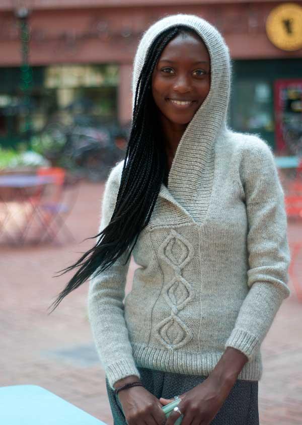Outstanding Knit Hoodie Pattern Ornament - Knitting Pattern Ideas ...