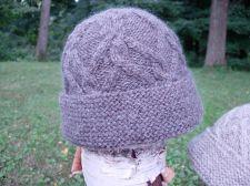 Lattice Cable Hat