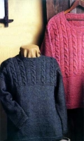 Cableweave Pullover