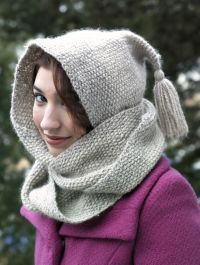 Emilie's Hooded Scarf