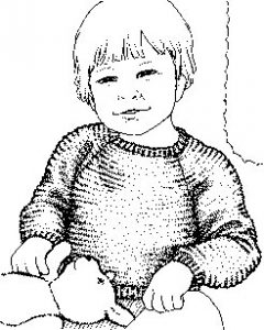 Garter Stitch Pullover