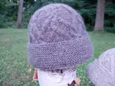 Lattice Cable Hat