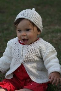 Pebble Yoke Sweater & Hat