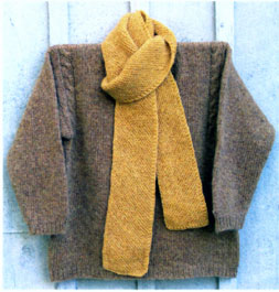 Simple Pleasures Scarf
