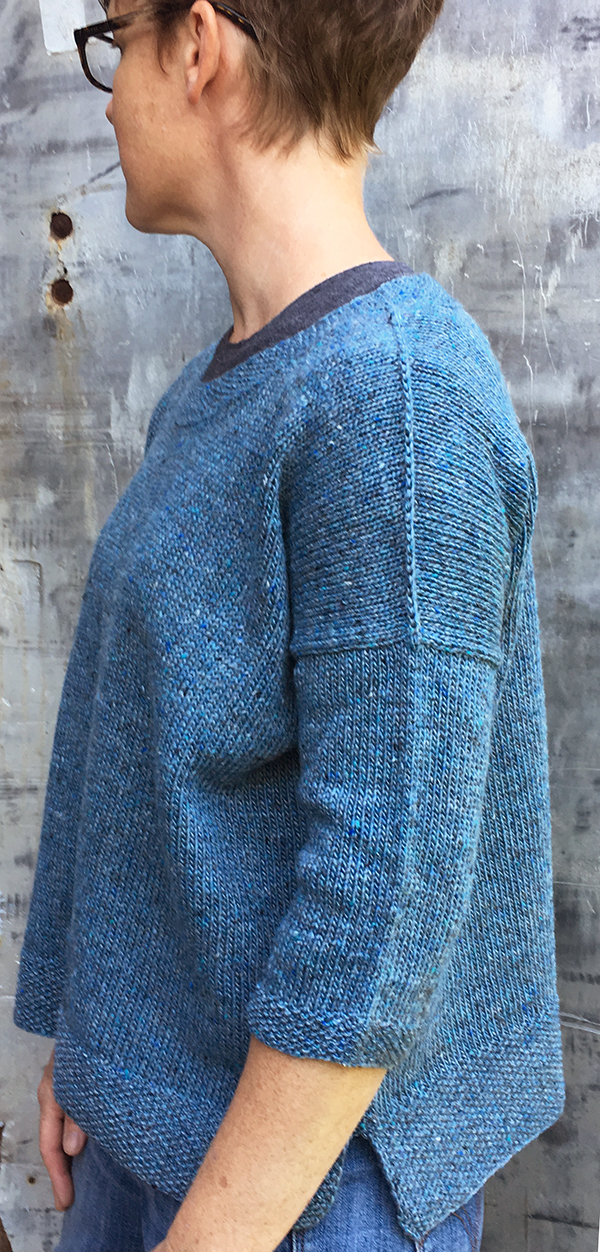 42b84f473af2ff And thanks to the polished look of the stockinette body knit up with Sylvan  Spirit