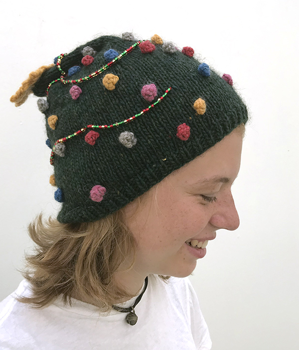 e3ccfbbb45e We can think of myriad ways to make your Big Ugly Christmas Hat unique. You  may want to consider using up stash yarn to make your ornaments more  diverse.